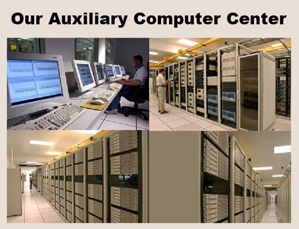 Our Auxiliary Computer Center